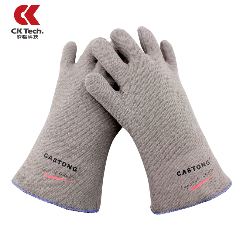 все цены на  CK Brand New Heat Resistant Microwave Work Safety Gloves Cooking Baking BBQ Oven Mitt Kitchen Safety Glove Free Shipping 35-33  онлайн