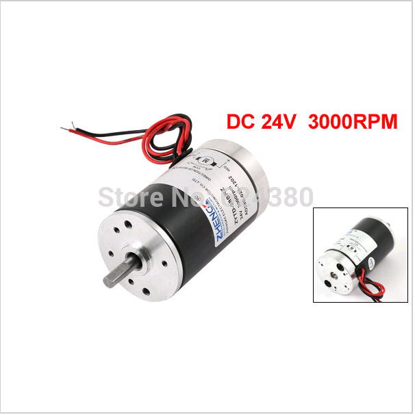 ZYTD-38SRZ-R 300G.cm Torque Brushed Electric <font><b>Motor</b></font> 24V 12V <font><b>DC</b></font> 3000RPM 4000RPM 5000RPM 2000RPM High Speed image
