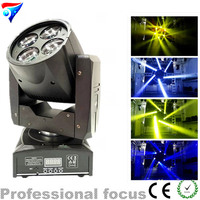 Free Shipping 4in1 4x15w Led Mini Beam Moving Head Light DJ Projector Stage Light