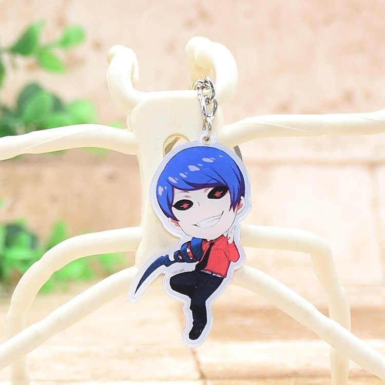 Dễ thương Tokyo ghouls Acrylic Anime Keychain Mặt Dây Chuyền Xe Móc Chìa Khóa Chuỗi Phụ Kiện Kaneki Phim Hoạt Hình Nhật Bản Món Quà Tốt Nhất