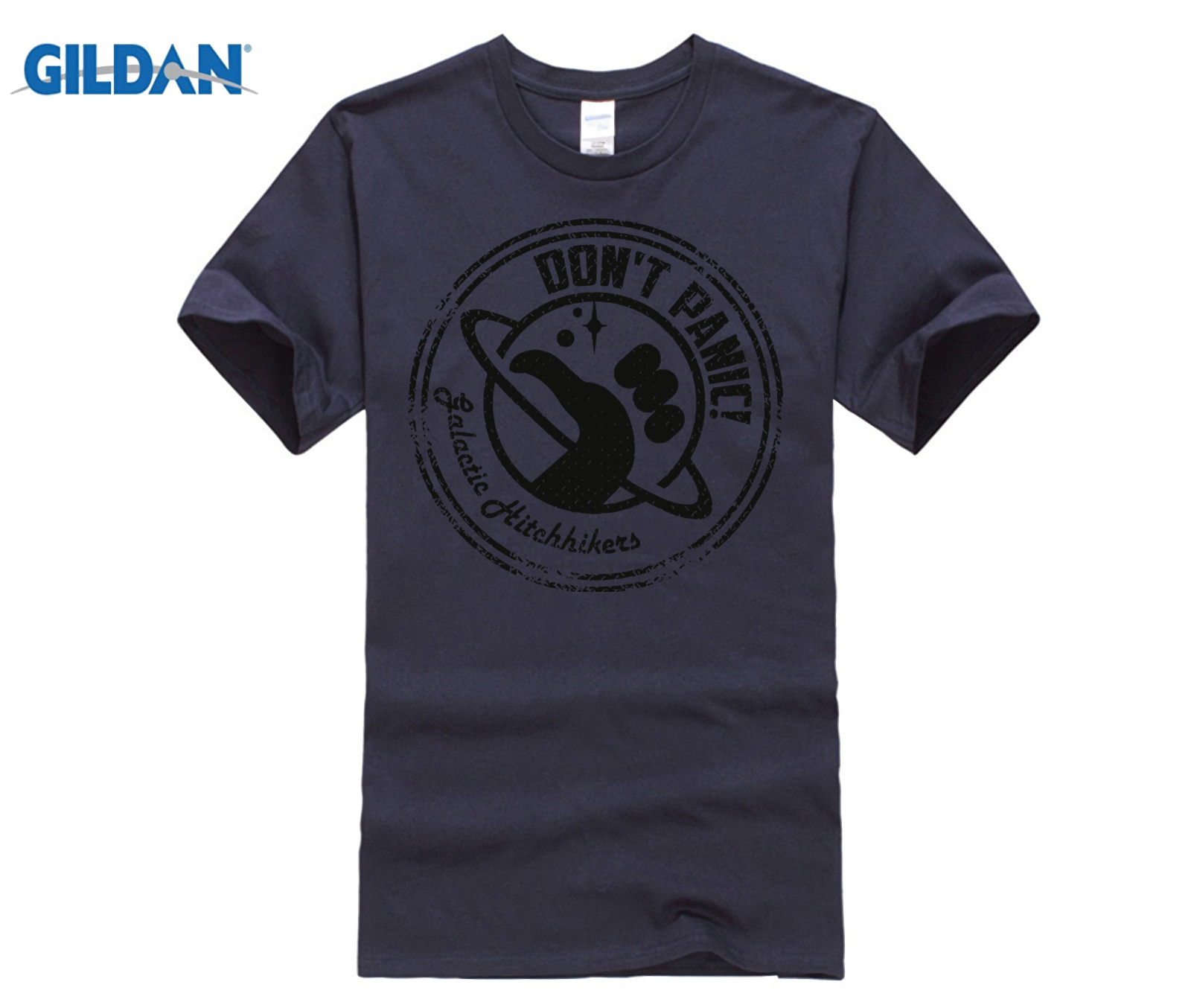 Gildan Galactic Hitchhikers Just Grate Guide To The Galaxy Mens T