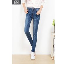 Ripped Jeans For Women Sale 2016 Autumn New Women High Waist Skinny Jeans Pants Feet Tidal Stretch Was Thin Pencil Trousers