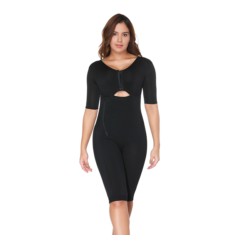 Image 5 - Slimming Bodysuit Body Shaper Post Surgery Seamless  Compression Garment Full Shapewear Colombianas Reductoras-in Bodysuits from Underwear & Sleepwears