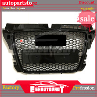 A3 Modified RS3 Style Front Engine Grill Grids for Audi A3 S3 RS3 S Line 2009 2010 2011 2012