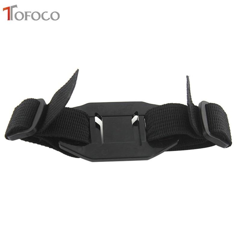 TOFOCO Vented nastavljiva čelada trak glave pas za Go Pro Mount - Kamera in foto - Fotografija 5