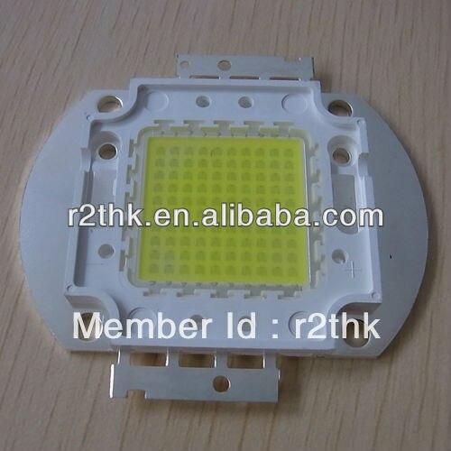Excellent heat sink Superbrightness 13200lm Oval Copper Base Bridgelux Epistar 120W LED COB module