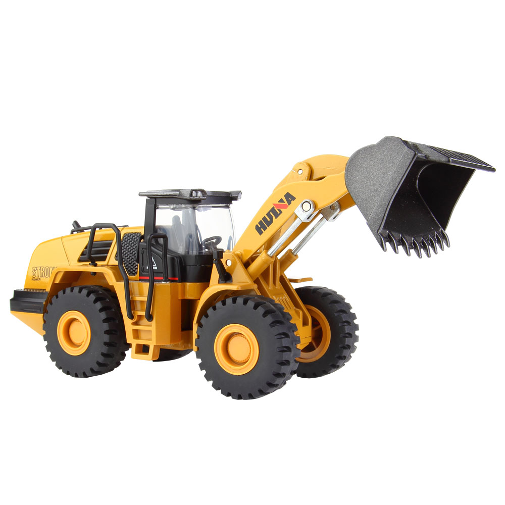 Hot Sale 1:50 Alloy Mechanical Loader Engineering Vehicle Excavator Car Vehicles Model Diecast Boys Toys Truck Gifts Kids Toy