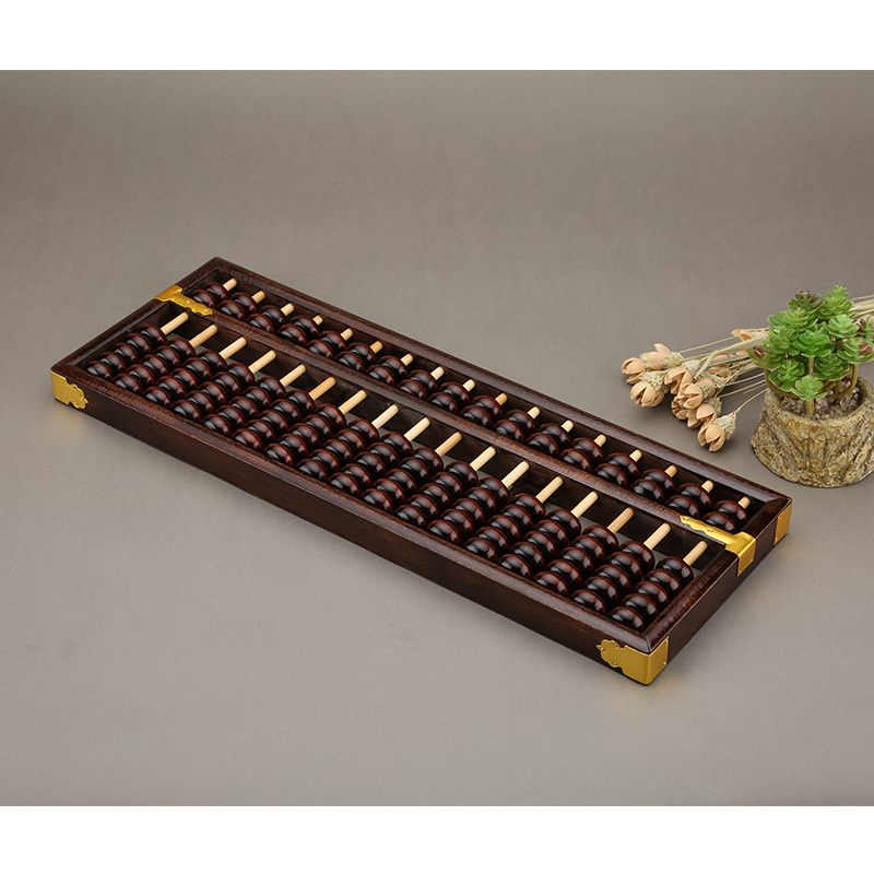 Фотография 17COLUMN old Chinese abacus sorban high quality for students,teacher ,accountant X10