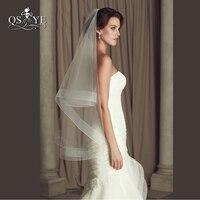 Wedding Accessories Ribbon Edge Fingertip Veil With 2 Horsehair Trim Fingertip Wedding Veil Bridal Veil Crinoline