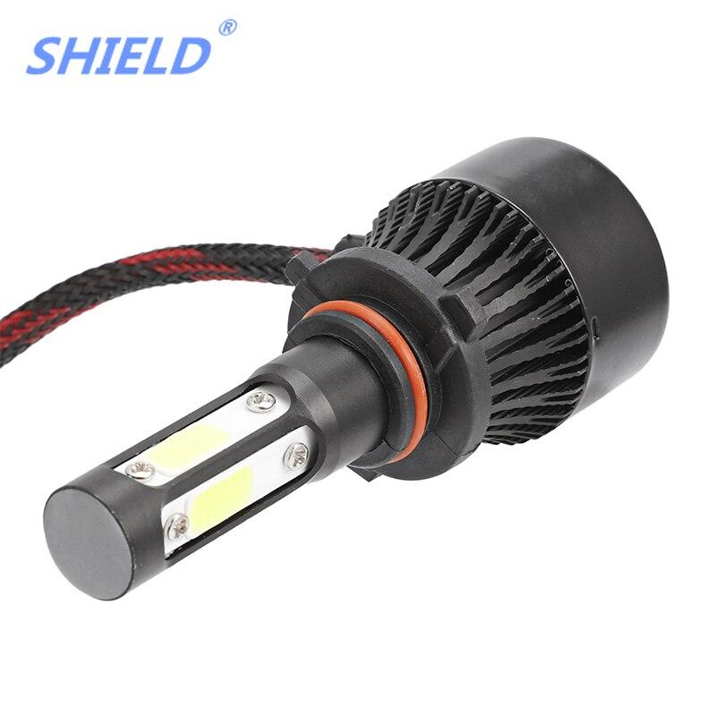 X7 H4 LED Voiture Lumière HB 1 3 4 5 COB Puces H7 H11 phare LED lampe 9004 90006 880 881 H 27 longue durée universel jouer et plug