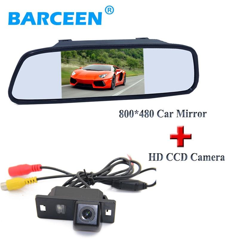 car reversing camera colorful night vision +800*480 hd lcd car display mirror 5 use for Audi A4L 2013~2014 / TT/ A5/ A6/Q5