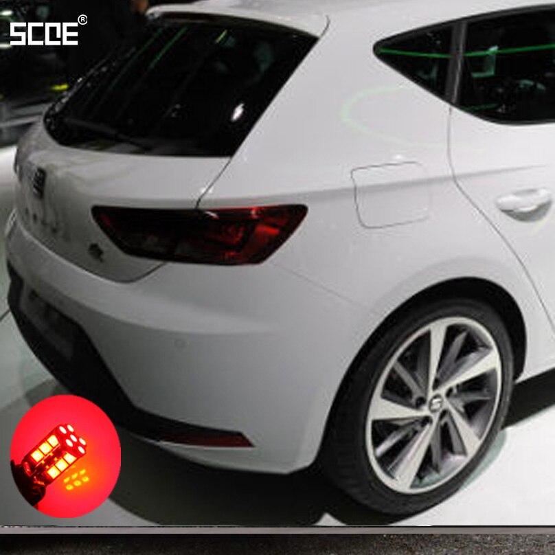 Para Seat Ibiza V Ibiza VSportcoupe SCOE, nuevo freno LED 2X 30SMD/parada/estacionamiento trasero/bombilla trasera/fuente de luz, estilismo para coche