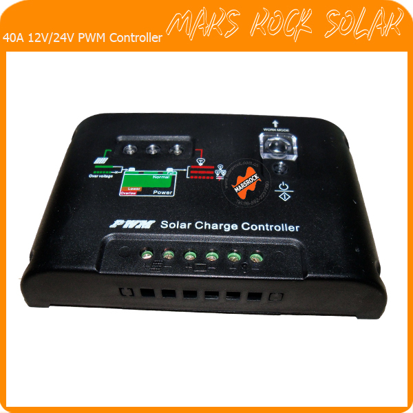 40A 12V/24V PWM Intelligent Solar Charger and discharge Controller with Auto-identification alka agrawal and raees a khan software vulnerability identification and minimization