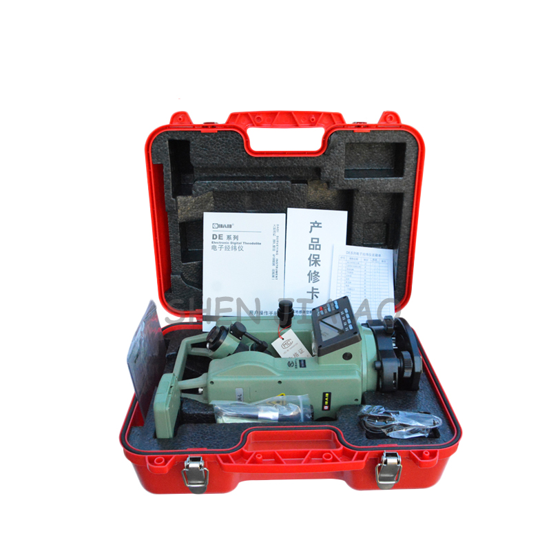 Electronic laser theodolite DE2A DC 6V laser theodolite measuring instruments on site 1pc цена