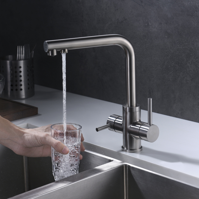 Lead Free Beverage Faucet Kitchen Sink Faucet Drinking Faucet Stainless steel Multi-function kitchen Faucet--5514Lead Free Beverage Faucet Kitchen Sink Faucet Drinking Faucet Stainless steel Multi-function kitchen Faucet--5514