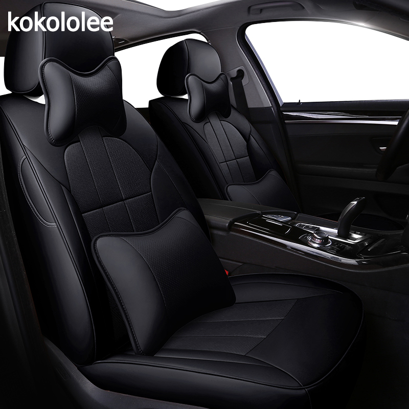 Kokololee Personnalisées en cuir véritable housse de siège de voiture pour acura MDX RDX RL TL ILX CDX TLX-L Automobiles Housses de Siège de voiture sièges protecteur