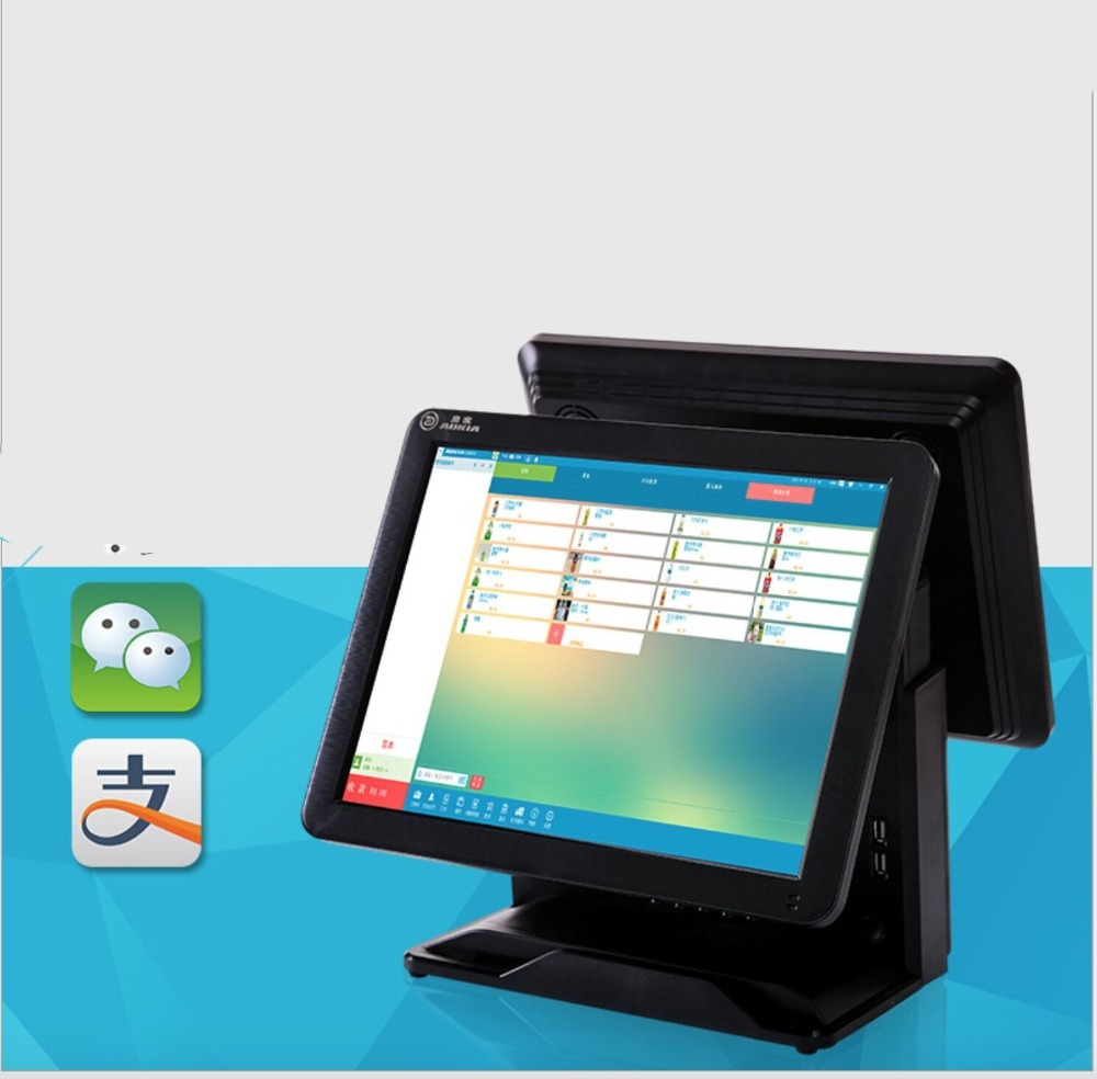 Latest 15 inch touch screen all in one restaurant linux posLatest 15 inch touch screen all in one restaurant linux pos