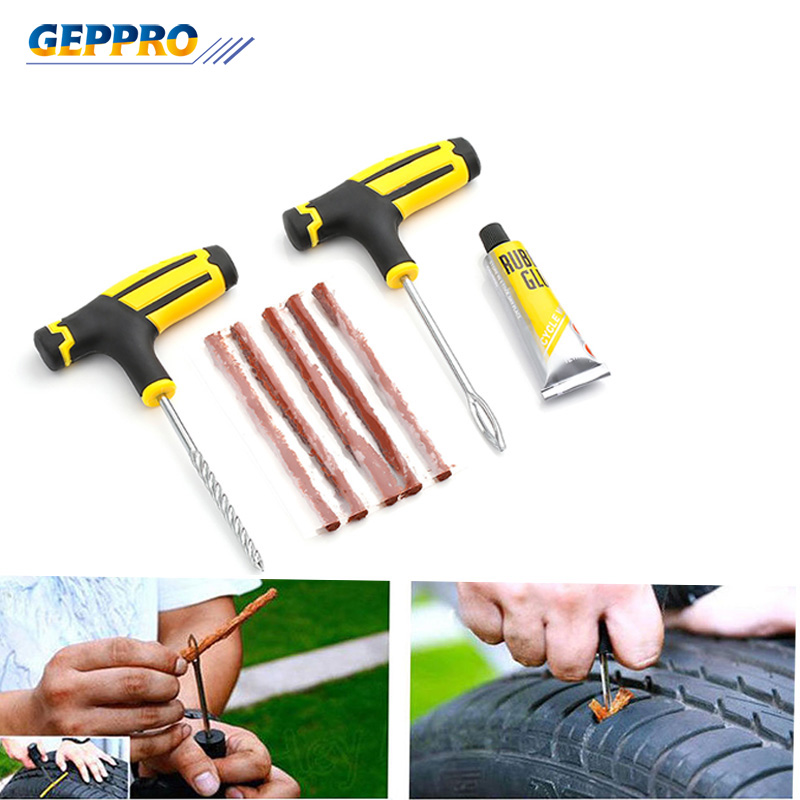 Spirited Car Tire Repair Tool Tire Repair Kit Studding Tool Set Auto Bike Tubeless Tire Tyre Puncture Plug Garage Car Accessoriesrt004 2019 Latest Style Online Sale 50% Car Repair Tools Automobiles & Motorcycles