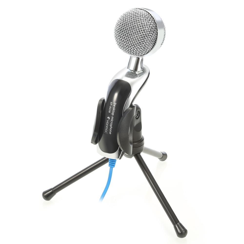 newest professional sound podcast studio usb condenser microphone mic studio audio sound. Black Bedroom Furniture Sets. Home Design Ideas