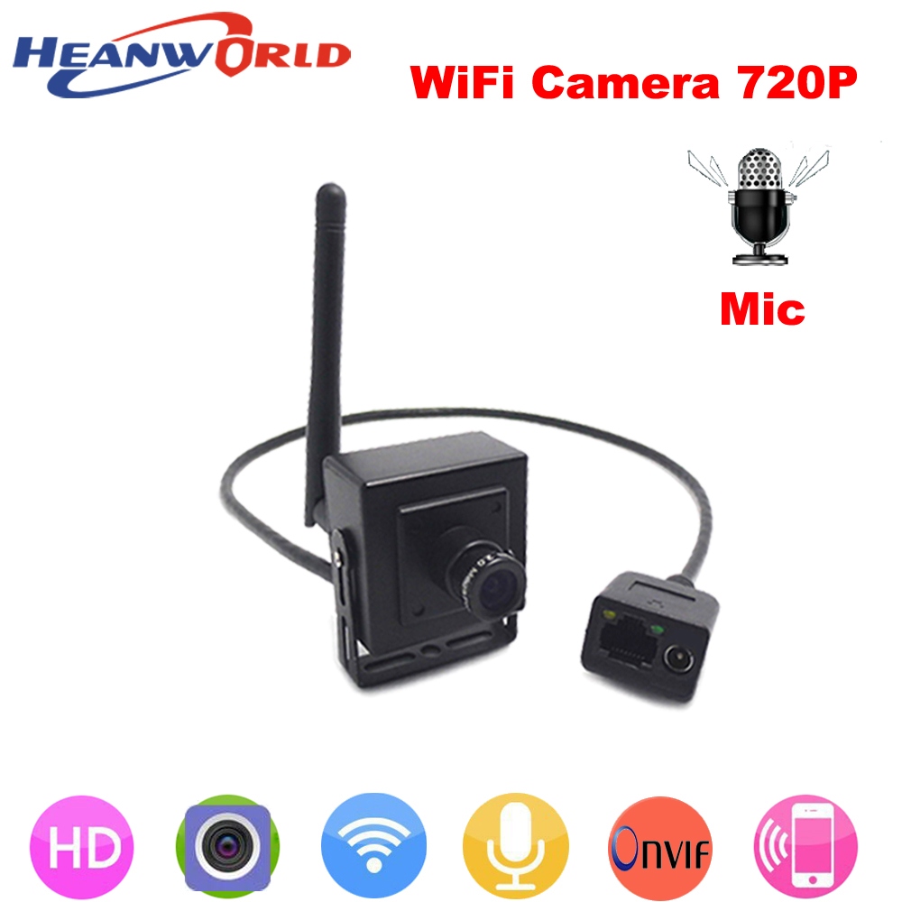 Heanworld 720P IP camera wireless microphone P2P cam HD wifi camera cctv security system with audio for home security IP cam heanworld 720p ip camera wireless microphone p2p cam hd wifi camera cctv security system with audio for home security ip cam