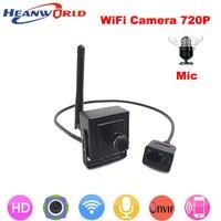 New 720P Mini IP Camera Wireless P2p Cam Onvif HD Wifi Cameras Cctv Security System With