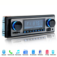 Vehicle MP3 Player U disk Plug in Radio Auto Car Classic FM Retro Radio Player Bluetooth Stereo MP3 USB SD Vehicle DVD Machine