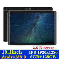 FENGXIANG 6GB+128GB 10.1 inch 3G/4G LTE Tablet pc For Android8.0 Octa Core PC Tablets 1920*1280 Resolving Power 8MP 8000mAh