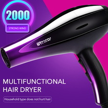 Negative Ions Hair Dryer Machine 5 Gear Fast Blow Hair Salon Equipment 220V Professional Hairdryer Hot And Cold Wind riwa 2200w powerful hair dryer negative ionic hair blower professional salon blow dryer fast drying blow hairdryer hot cold wind