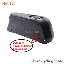 Batteries Ebike Down-Tube Mountain-Bike 500w 750w 48v Fat Dolphin with USB Atlas