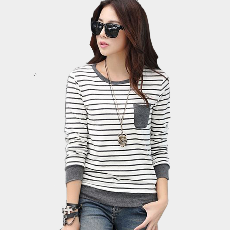 vetement femme woman clothes womens long sleeve tops casual 2016 ...