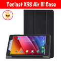High quality PU leather case for teclast x98 air iii,For  teclast X98 Plus stand pu case cover free 3 gifts