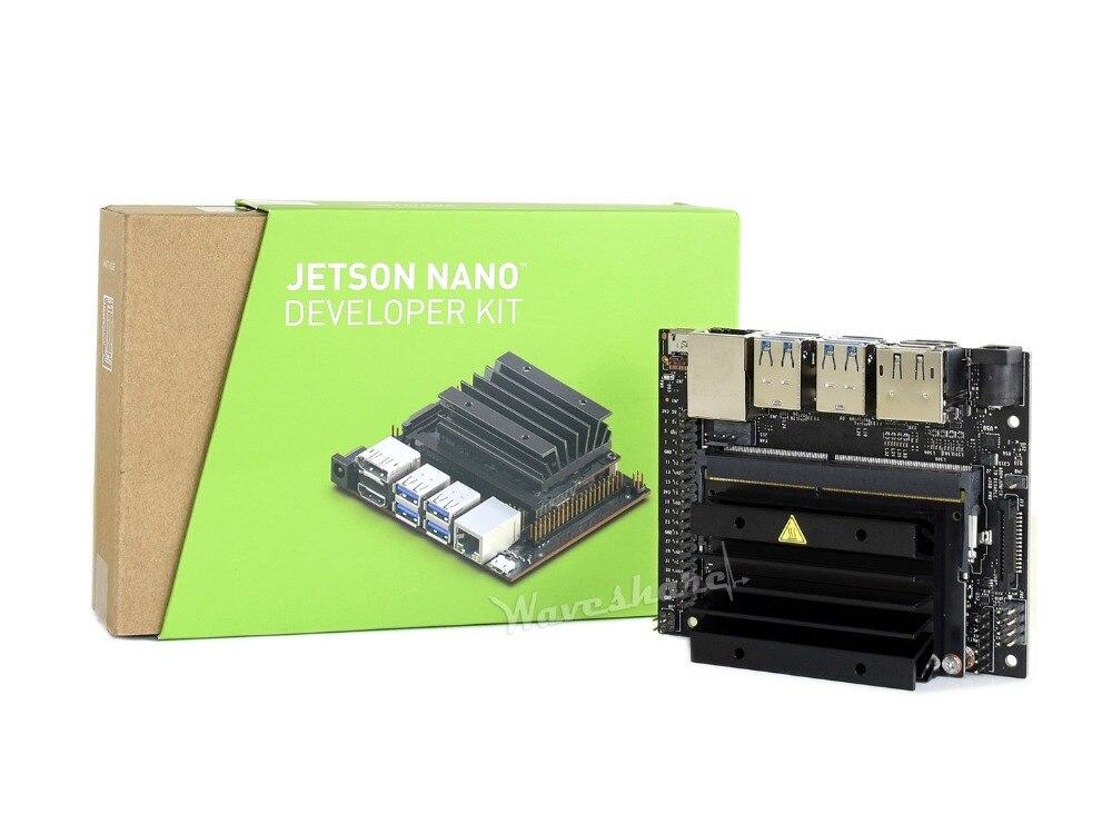 NVIDIA Jetson Nano Developer Kit Small AI Computer 128-core Maxwell GPU Quad-core ARM Cortex-A57 CPU 4GB 64-bit LPDDR4