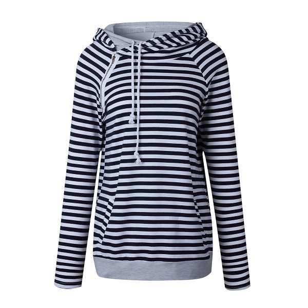 763dcbd2256  2  Autumn Casual Hoodies Women Plus Size XXXL Coat Pullover Warm Full  Sleeve Hoodie Sweatshirt Female Pockets Striped Hoodie 2018-in Hoodies    Sweatshirts ...
