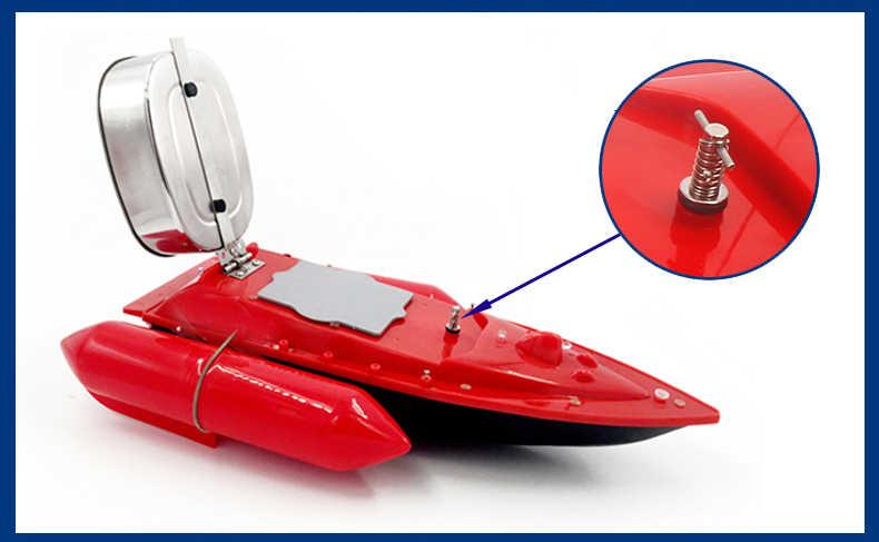 PDDHKK RC Baut лодка для доставки прикорма и оснастки 300 м Пульт дистанционного управления игрушка рыболокатор лодка корабль катер 2-3 км/час расстояние видимости 150 м