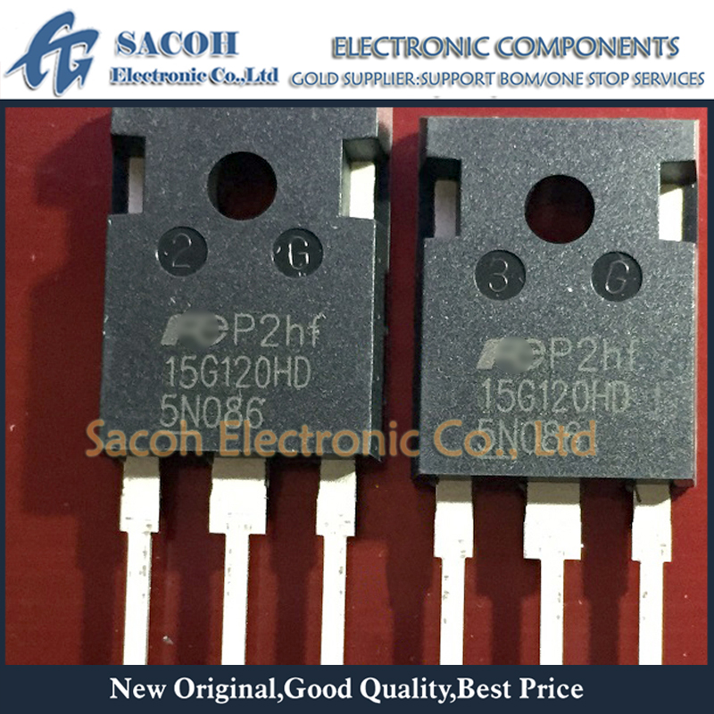 Бесплатная доставка 10 шт. FGW15N120HD 15G120HD FGW15N120VD 15G120VD FGW15N120H 15G120H TO-247 15A 1200V Дискретные IGBTs