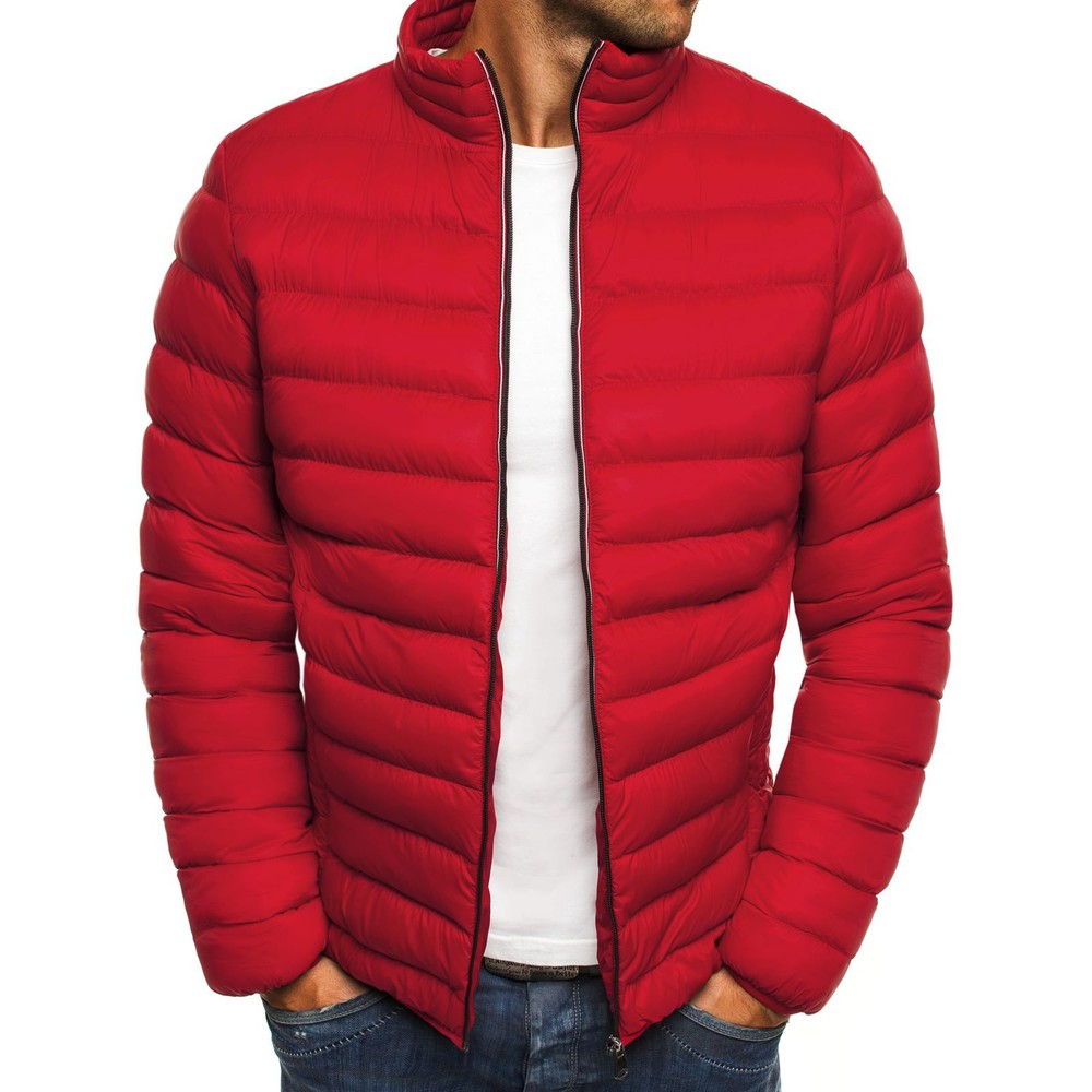 ZOGAA 2018 New Parkas Men Winter Jacket Casual Puffer Coat Solid Zipper Classic Simple Coat Clothes