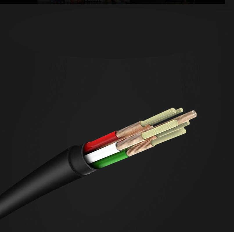 3.5 millimetri Bass Stereo Wired Auricolare In-Ear di Sport del Metallo Della Cuffia per Smartphone Senza Microfono Ridurre Il Rumore