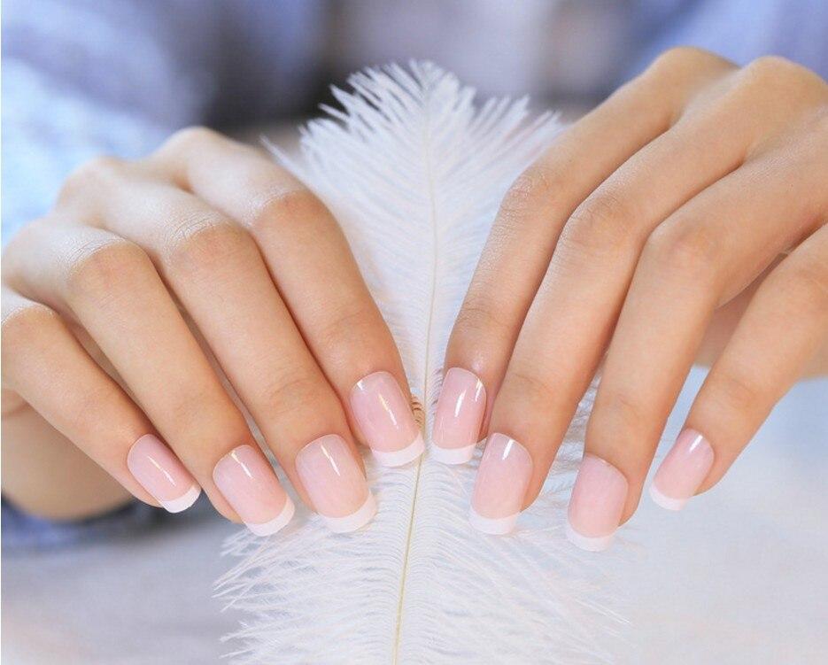 Fashion Women False Nail Tips Beauty Nail Decorations Full Cover ...