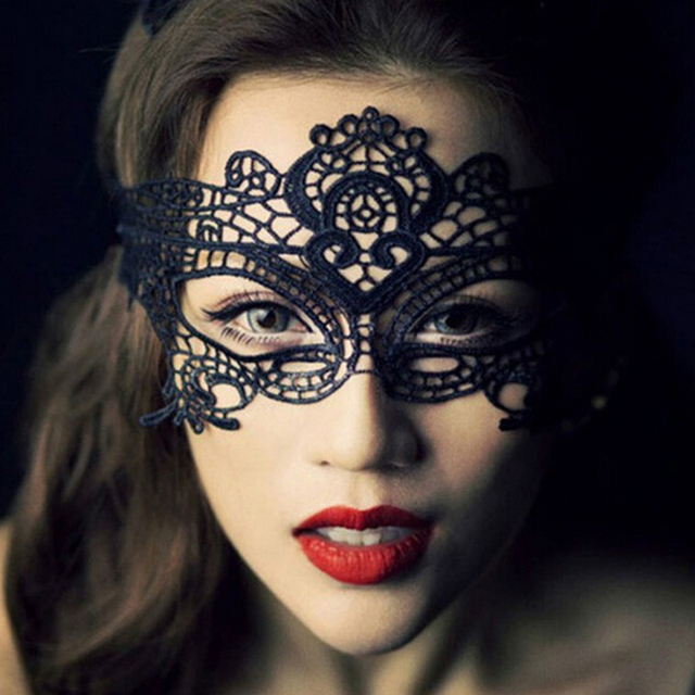 Fetish Mask Flirt Sex Love Adult games Erotic Products Party R Halloween Lace Masks Sex Toys for Couples Sexy Mask