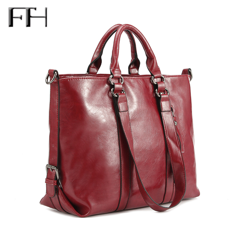 Top grade fashion Women leather big totes shoulder bag lady sexy party Handbags Hot female classical