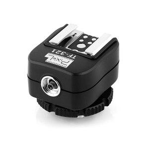 Image 3 - PIXEL TF 321 Flash Adapter TTL PC Port Hot Shoe Converter For Canon 5D Mark III 70D 60D 100D 700D 650D 600D 550D 500D 6D 430EX
