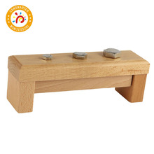 Montessori Kids Toy High-Quality Wood Screw Bolts and Nuts Learning Educational Preschool Training