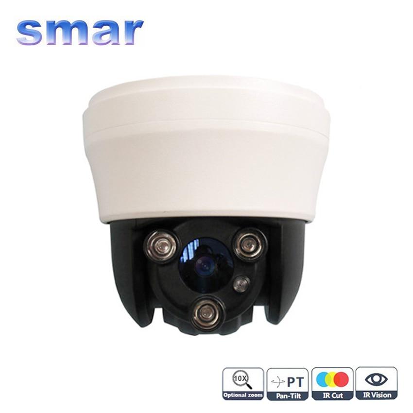 2013 New Sony Effio CCD 10x Optical Zoom Array IR Vandalproof Mini Speed PTZ Camera With IR-CUT Free Shipping цена 2017