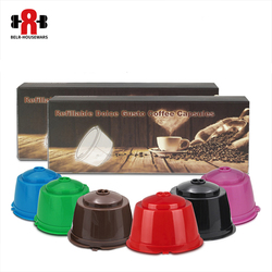 3/6pcs/lot Refillable Dolce Gusto Reusable  Coffee Capsule Coffee Compatible Nescafe Dolce Gusto Coffee Capsules