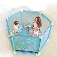 Купить с кэшбэком Children's Tent Baby Toys Game Fence Oxford Cloth ABS Material Ball Pool Indoor Outdoor Kids House Portable Ballenbak Tent House