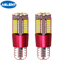 Aslent 2pcs Car t10 led 192 w5w super bright 57smd Canbus NO Error Auto Wedge Clearance Lights bulb parking lamp Side Light 12v