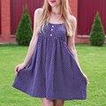 Rachelcoco nueva moda de verano del o-cuello sin mangas de impresión floral vestidos de las mujeres mini vestido atractivo de la playa correa de espagueti mori vestidos de niña