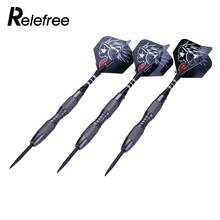 3Pcs Steel Tips Darts 22g Shafts Nice Flight Harrow Point Wing Needle Barrel Tungsten Steel Needle Tip Darts With Flights Sports(China)