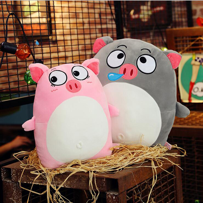 Hot Sale Cute Pigs Eiderdown Cotton Plush Toy Soft Plush Pillow Birthday Gift For Children 39 s in Stuffed amp Plush Animals from Toys amp Hobbies