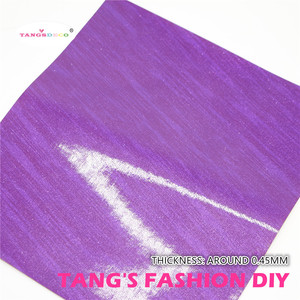 Image 4 - 12pcs High ใหม่สไตล์ผสมสีม่วงสีผสม PU หนังชุด/สังเคราะห์หนังชุด/หนังเทียม